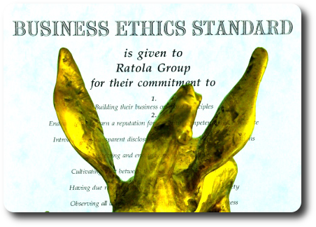 Business ethics standard given to Ratola Group and Golden Pegasus award